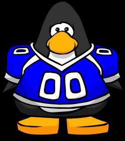 Blue Football Jersey   Club Penguin Wiki   FANDOM powered by Wikia