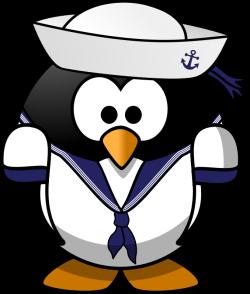 Image for Sailor Penguin Animal Clip Art | Animal Clip Art Free ...