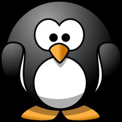 Cartoon Penguin Clip Art at Clker.com - vector clip art online ...