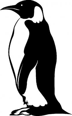 penguin profile clip art - Clip Art Library