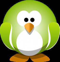 Green Penguin Clip Art at Clker.com - vector clip art online ...