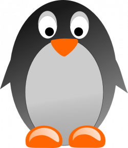 Penguin Clip Art at Clker.com - vector clip art online, royalty free ...