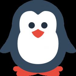 Simple Christmas Penguin Icon, PNG ClipArt Image   IconBug.com