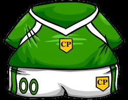 Green Soccer Jersey | Club Penguin Wiki | FANDOM powered by Wikia