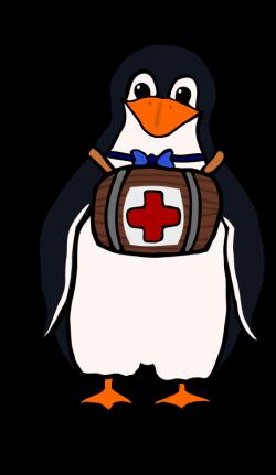 Clipart - St. Bernard's Penguin