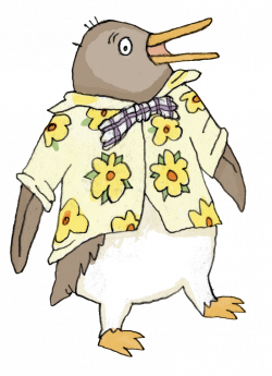 Highest Tacky The Penguin Coloring Pages Printable | ninjazac123gaming