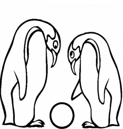 Brave Baby Penguin Coloring Page According Inexpensive Article ...