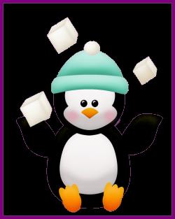HD Penguins Clipart Hat - Cute Girl Penguin Cartoon 1080p ...