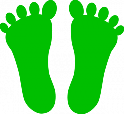 Footprints Clipart foot print - Free Clipart on Dumielauxepices.net