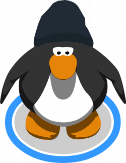 Image - Dark Blue Beanie ingame.PNG | Club Penguin Wiki | FANDOM ...
