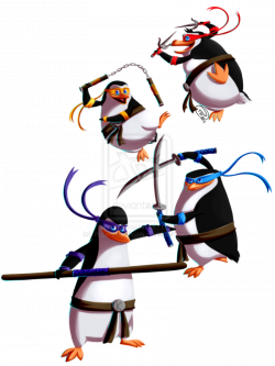 TMNT estilo pinguinos de madagascar   Penguini   Pinterest ...