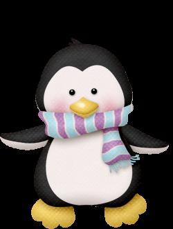 lliella_winter1.png | Penguins, Clip art and Christmas clipart