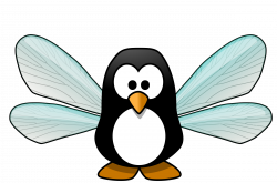 Clipart - Pixie penguin