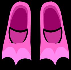 Pink Flippers | Club Penguin Wiki | FANDOM powered by Wikia