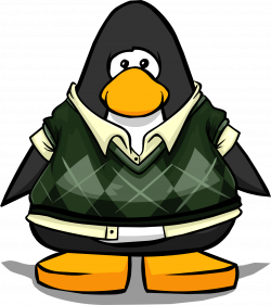 Image - Dapper Sweater Vest on a Player Card.png   Club Penguin Wiki ...