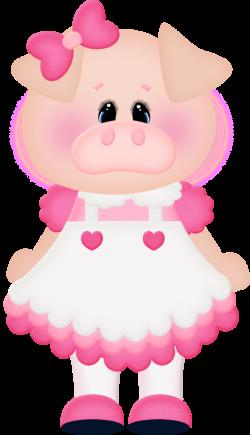 Três Porquinhos - Miss Pig.png - Minus | cute clip arts | Pinterest ...