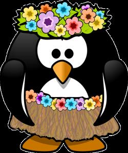 Free Image on Pixabay - Penguin, Hula, Tux, Animal, Bast   Hula ...