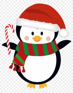 Penguin Clip Art Christmas - Free Transp #101198 - PNG ...