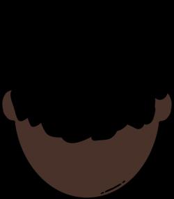 Back Of Dark Skin Man Clip Art at Clker.com - vector clip art online ...