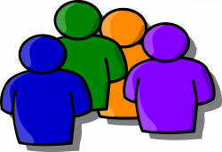 Clipart - Abstract people