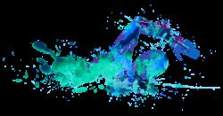 Swimming Man Clipart - 15650 - TransparentPNG