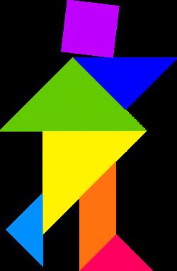 Clipart - Tangram