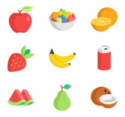 102 fruits icon packs - Vector icon packs - SVG, PSD, PNG, EPS ...