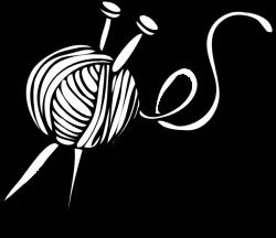 Yarn and Knitting Needles Clip Art | Yarn | Pinterest | Clip art and ...