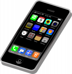 Cell Phone App Clipart