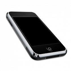 Smartphone Seven | Isolated Stock Photo by noBACKS.com