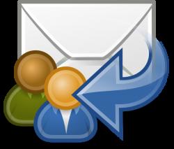 Mail Reply All Clip Art at Clker.com - vector clip art online ...