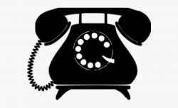 Telephone Clipart Svg - Old Fashioned Phone Clip Art #368891 ...