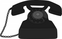 old phone clipart - OurClipart