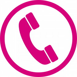 Telephone Clipart clip art pink - Free Clipart on Dumielauxepices.net