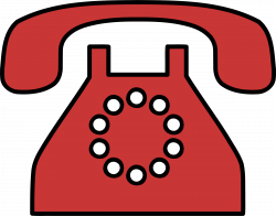 Clipart - Old fashioned phone 2