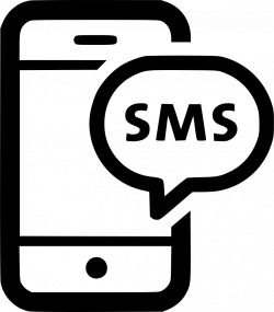 Sms Chat Text Message Phone Bubble Talk Svg Png Icon Free Download ...