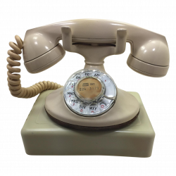 1955 Western Electric 202 Rotary Dial Desk Phone | Pinterest ...