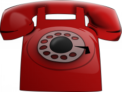 Red Phone Icons PNG - Free PNG and Icons Downloads