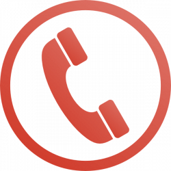 Red Phone Icon Clip Art at Clker.com - vector clip art online ...