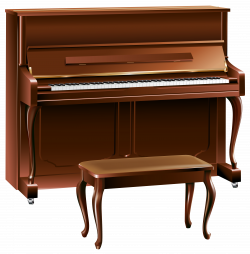 Brown Piano PNG Clipart - Best WEB Clipart