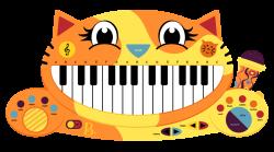B Meowsic Keyboard by Culu-Bluebeaver on DeviantArt