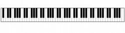 Piano Keyboard Clipart Free Stock Photo - Public Domain Pictures