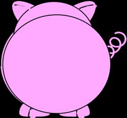 Back Pig Clip Art at Clker.com - vector clip art online, royalty ...