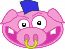 Punk pig Icons PNG - Free PNG and Icons Downloads