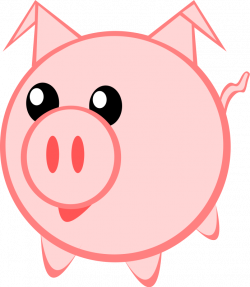 28+ Collection of Cute Pig Clipart   High quality, free cliparts ...