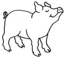 My Pig ClipArt - Page 4 | Seuss | Pig art, Farm animal quilt ...