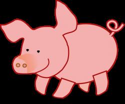 Clipart - Pig
