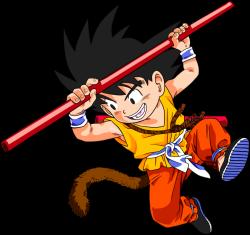 kid goku colored 2 by Ninja-pineapple on DeviantArt