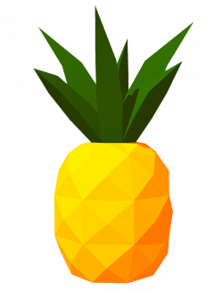 The Draw Something Daily Initiative • Like pineapples? Like low-poly ...