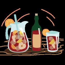 Red Wine Juice Drink Clip art - Cartoon juice 1181*1181 transprent ...
